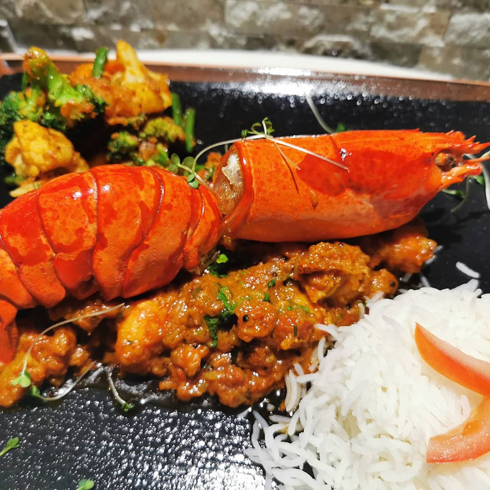 Lobster Pepper Fry